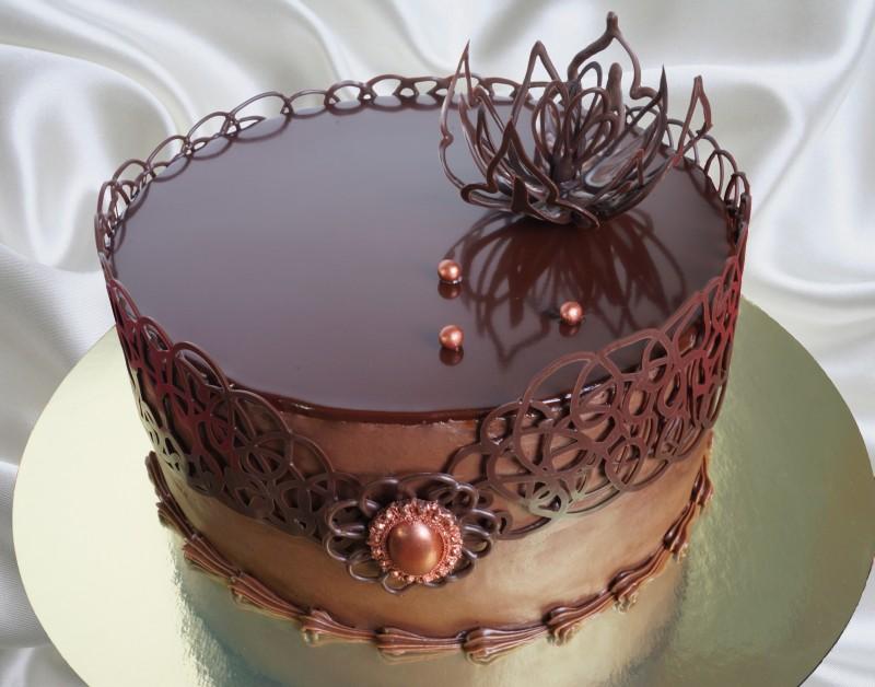 Глазурь из шоколада для торта рецепт с пошагово